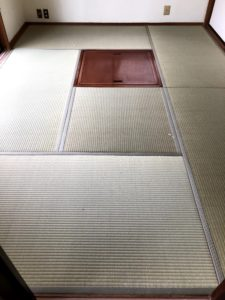 掘りコタツのあるお部屋の畳替えAfter